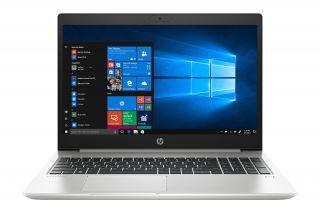 HP ProBook 450 G7 2D207ES Vorderansicht aufgeklappt