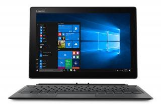 Lenovo Miix 520-12IKB 20M3000DGE Frontansicht, abnehmbare Tastatur