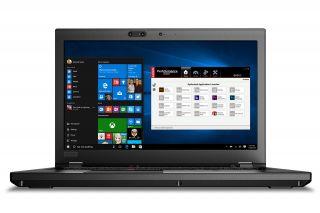 Lenovo ThinkPad P52 20MAS04600 Frontansicht