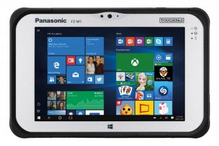 Panasonic Toughbook M1 mk1 FZ-M1CCBCCE3 Frontansicht Touchscreen