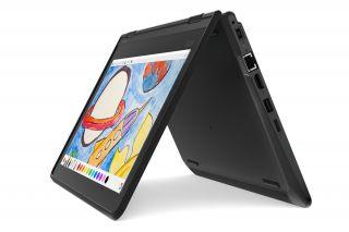 Lenovo ThinkPad 11e 5.Gen. 20LRS0AM00 Schüler Laptop 2-in-1 Convertible, Tent Mode