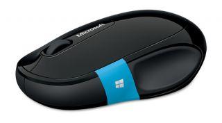Microsoft Sculpt Comfort Maus   Schwarz