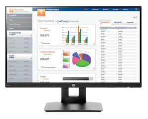 HP VH240a Monitor 24 Zoll