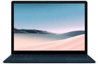 Microsoft Surface Laptop 3 PKU-00046 - Kobaltblau - Alcantara - Front