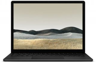 Microsoft Surface Laptop 3 PLA-00025 - Mattschwarz -Metall - Front