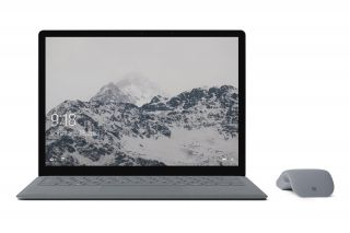 Microsoft Surface Laptop EUQ-00004 - Front mit Maus