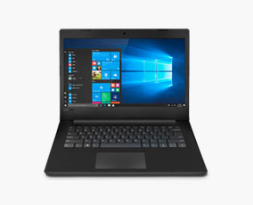 Schüler Laptop mit Windows 10